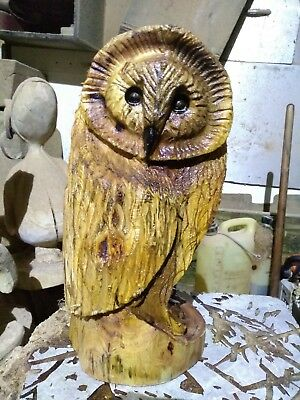 Sussex Chainsaw Carving Elm Great Gift Idea Wooden Garden Or Home • 50£