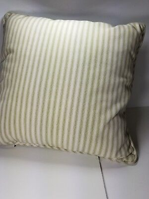 Pottery Barn Ticking Pillow Compare Prices On Dealsancom