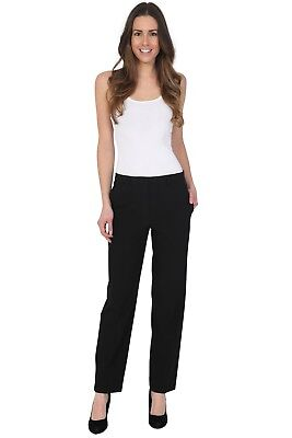 £14.99 • Buy Ex M&S Womens Trousers Work Formal Office Straight Legs Stretch Pant 6-20