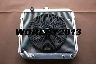 AU255 • Buy 3 Row Aluminum Radiator + Fan For Pajero NH NJ NL NK 3.5L V6 Petrol 1994-2000