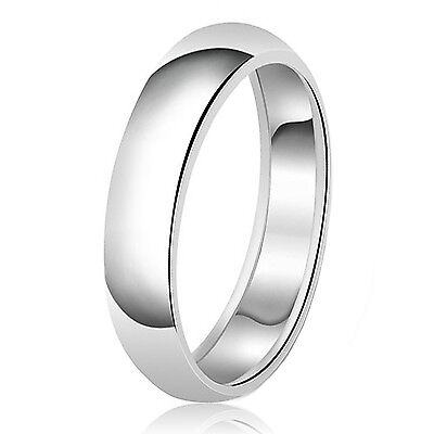 $16 • Buy Sterling Silver 925 Couples Plain Comfort Fit Wedding Band Ring 6MM FREE ENGRAVE