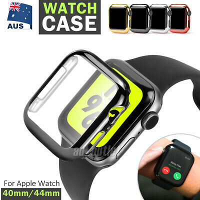 AU5.95 • Buy For Apple Watch 5 4 40mm 44mm Full Case Cover&Built-in Glass Screen Protector