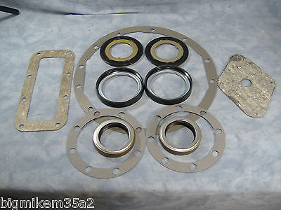 $145.91 • Buy M35a2 2.5 Ton Complete Rear Axle Seal & Gasket Kit  M35 Rockwell Military Truck