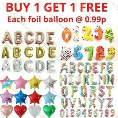 £1.98 • Buy 16  Inch Self Inflating Foil Numbers & Letters Balloons Happy Birthday 2022 XMAS