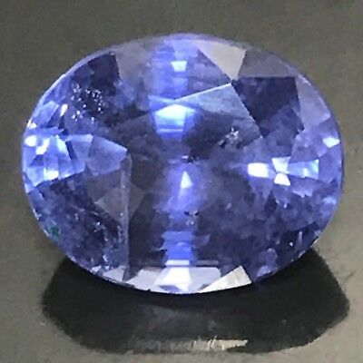 Natural 2.58 Carat Blue Sapphire Unheated Oval Genuine Loose Gemstone Ceylon • 1,195$