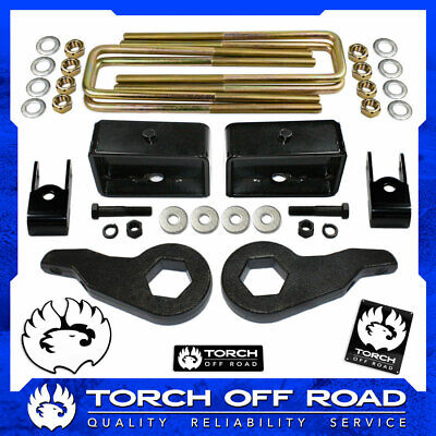 $147.95 • Buy 3  Front 3  Rear LIFT Kit For 1999-2007 Chevy Silverado GMC Sierra 4X4 4WD 6-LUG