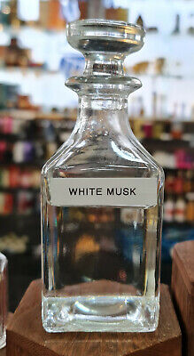 White Musk Oil Perfume Non Alcoholic Body Clothes Burners Candles Aromatherapy  • 4£