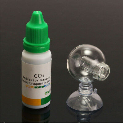 $2.18 • Buy CO2 Carbon Dioxide Monitor Glass Drop Ball Checker Tester Aquarium PH Indicators