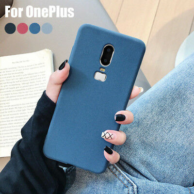 AU4.64 • Buy For OnePlus 9 8 7T Pro 7 6T 6 5T Sandstone Matte Shockproof Soft TPU Case Cover