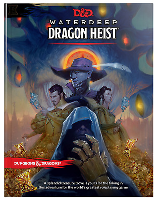 AU59.99 • Buy Dungeons & Dragons - 5th Edition - Waterdeep: Dragon Heist