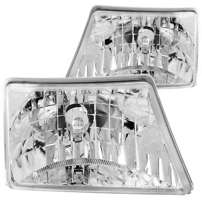 $186.54 • Buy ANZO For 1998-2000 Ford Ranger Crystal Headlights Chrome - Anz111037