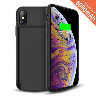 AU50.34 • Buy 6000mAh Battery Charging Power Bank Charger Case For IPhone 6/7/8 Plus X XS MAX