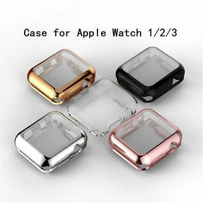 $ CDN4.93 • Buy For Apple Iwatch Watch Series 4/3 / 2 /1 TPU Full Screen Protector Cover Film 44