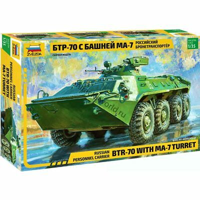 AU15.97 • Buy Zvezda 3587 BTR-70 With MA7-02 Turret /russian Armoured Personnel Carrier/ 1/35