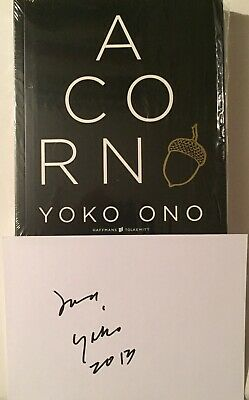 Yoko Ono Signiert Art Beatles Karte Original Unterschrift Signed Autogramm Book • 249.26£