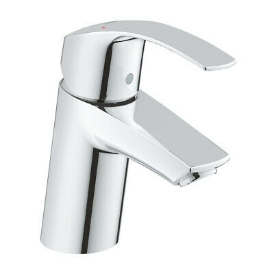 Grohe Eurosmart Basin Mixer Tap Single Lever • Chrome • 3246700L • 73.99£