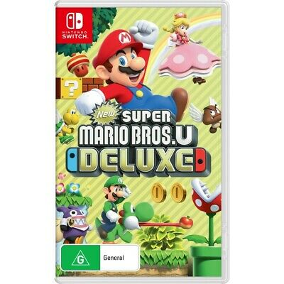 AU69 • Buy New Super Mario Bros U Deluxe Nintendo Switch Game