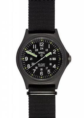 $ CDN192.89 • Buy MWC US Spec Military Watch - 165ft Water Resistant On Black Nylon Webbing Strap