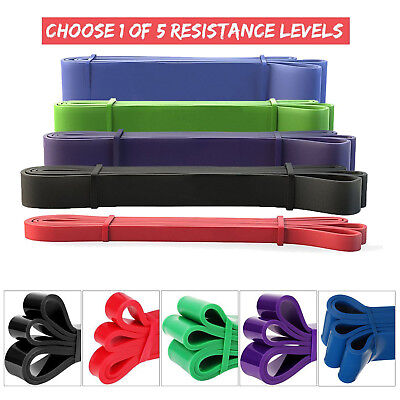 AU25.99 • Buy Pull Up Assist Bands – Heavy Duty Resistance Bands For Mobility And Powerlifting