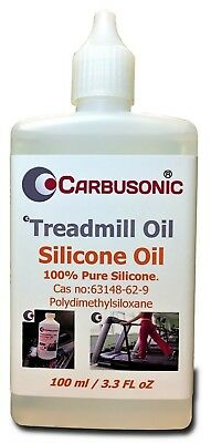 AU19.93 • Buy Treadmill Silicone Oil Lubricant - 100 Ml, Extends Your Treadmills Belt Life.