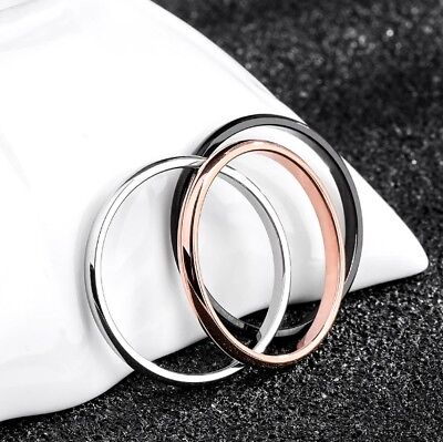 AU7.99 • Buy Titanium Thin Wedding Band - 2 Mm
