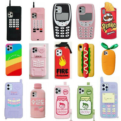 AU5.19 • Buy 3D Cartoon Cover Case For IPhone 11 Pro Max 11 Pro 11 XS Max XR X 8 7 6 6S Plus
