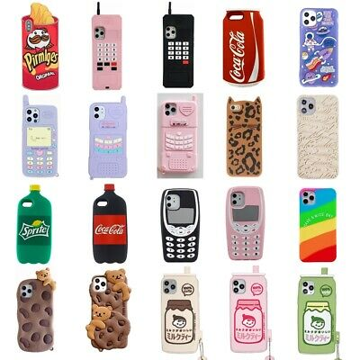 3D Cartoon Kids Cover Case For IPhone 11 11 Pro 11 Pro Max XR XS Max 8 7 6 Plus • 3.35£