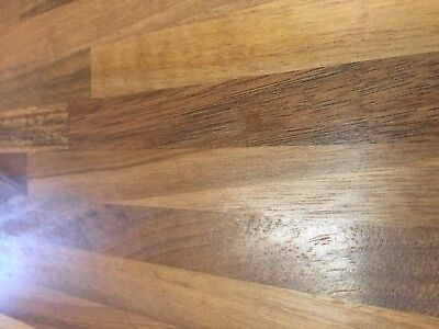 £25 • Buy Prime Walnut Solid Wood Worktop, All Sizes Available, Real Wood Worktops