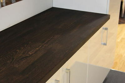 Prime Wenge Solid Wood Worktop, 40mm Staves, Very Dark Real Solid Wood Worktops! • 545£