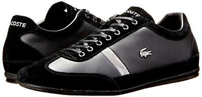 Lacoste Men's Misano 22 LCR Fashion Sneaker Trainer Shoes Black 13 NEW IN BOX • 50.06£