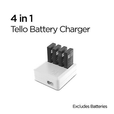 AU19 • Buy DJI Tello 4 In 1 Battery Charger Hub Intelligent Fast Charging Australian Stock