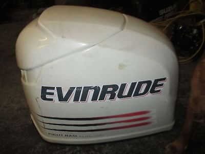 $250 • Buy Evinrude 250 Hp Ficht Outboard Top Cowling