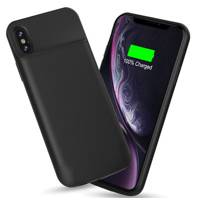 AU64.59 • Buy Charging Case Battery Charger Case For IPhone XS XR, Double Battery Life - Black