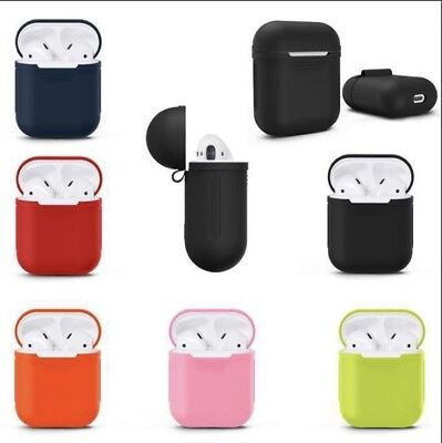 $ CDN2.99 • Buy Apple AirPods Case Cover Silicone Protective Skin *CANADIAN SELLER*