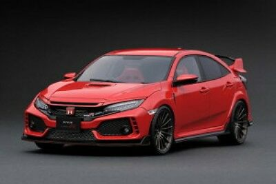 AU438.91 • Buy NEW Ignition Model 1/18 Honda Civic (FK 8) Type R Red Finished Item From Japan