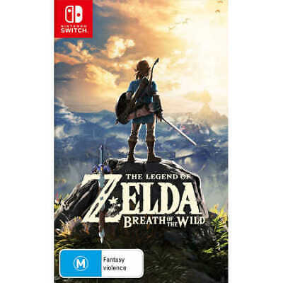AU79 • Buy The Legend Of Zelda: Breath Of The Wild Nintendo Switch Game