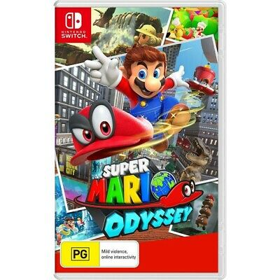 AU69 • Buy Super Mario Odyssey - Nintendo Switch