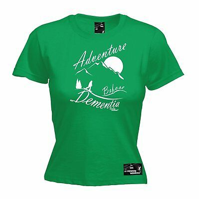 AU18.64 • Buy Adventure Before Dementia Snowboard WOMENS T-SHIRT Board Funny Mothers Day Gift