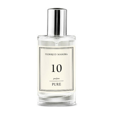 FM 10 Pure Collection Federico Mahora Perfume For Women 50ml UK • 14.99£