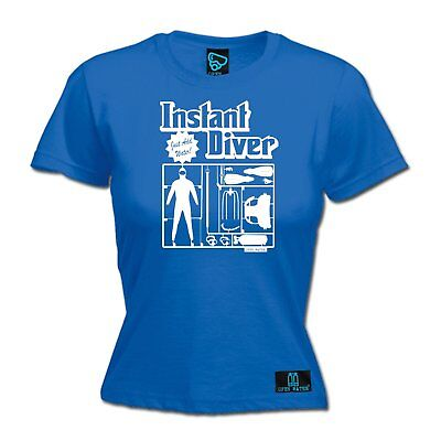 AU18.64 • Buy Instant Diver Just Add WOMENS Open Water T-SHIRT Tee Mothers Day Scuba Diving