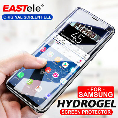 AU7.95 • Buy 3x HYDROGEL Screen Protector For Samsung Galaxy S10 5G S9 S8 Plus Note 10 9