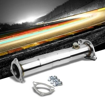 SS Adjust 11.75 -15  High Flow CAT Delete Exhaust Test Down Pipe For 88-01 Civic • 45.27$