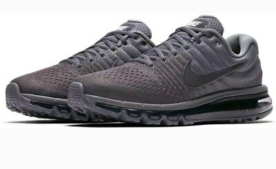 $115 • Buy Nike Air Max 2017 Cool Grey 849559-008 Men's Running Shoes Size US 8