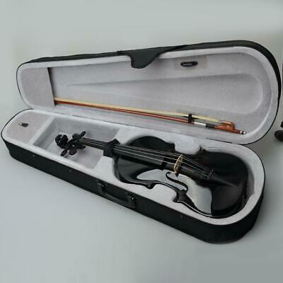 $39.99 • Buy 15 Inch Beginner Students Black Acoustic Viola With Case Rosin Bow High Quality