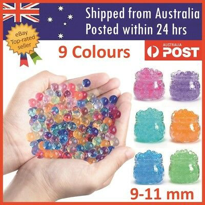AU16.95 • Buy Orbeez Crystal Soil Water Balls Pearls Jelly Gel Beads Party Activity 9-11mm