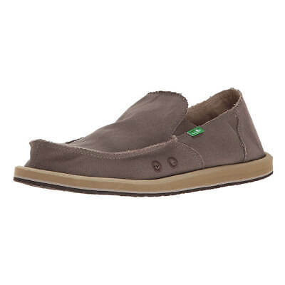 Sanuk SMF1001 Men's Vagabond Sidewalk Surfers Slip-On, Brindle • 32.06£