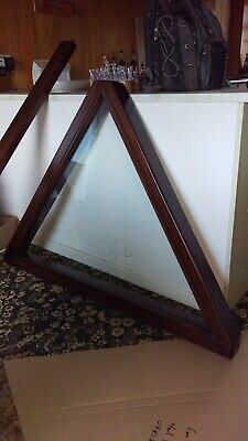 Narrow Boat Hardwood Hinged Cratch/A-frame • 400£