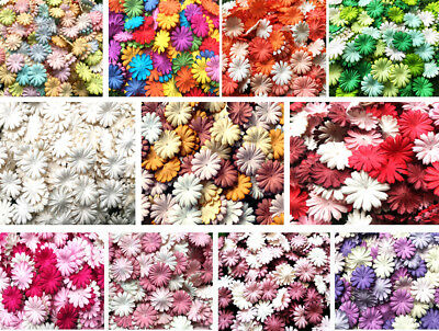 Daisy Flowers Mulberry Paper Blossom Mixed Lovely Scrapbooking For Craft & DIY • 4.50£