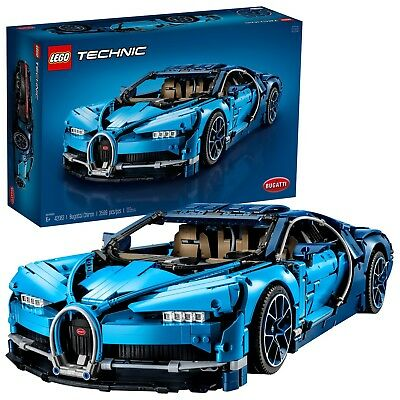 $480.59 • Buy Lego Technic Bugatti Chiron 42083 Race Car Building Kit And Engineering Toy New