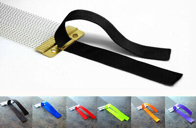 10 X Snare Wire Straps Snare Drum Ribbon Cord Throw Off Strainer Kit Accessories • 3.95£